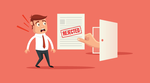 Digital marketing job rejection
